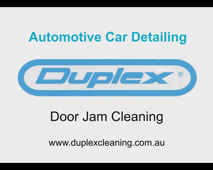 Cleaning Door Jams - Automotive Detailing