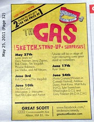 The Gas, Weekly Dig ad