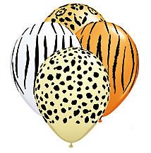 safari print balloons