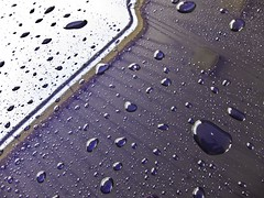 Car Wash Droplets & Reflections.12 (mcreedonmcvean) Tags: macro water reflections droplets carwash macrodetails