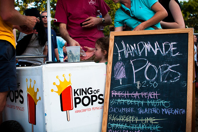 King of Pops at Howell Mill Food Park