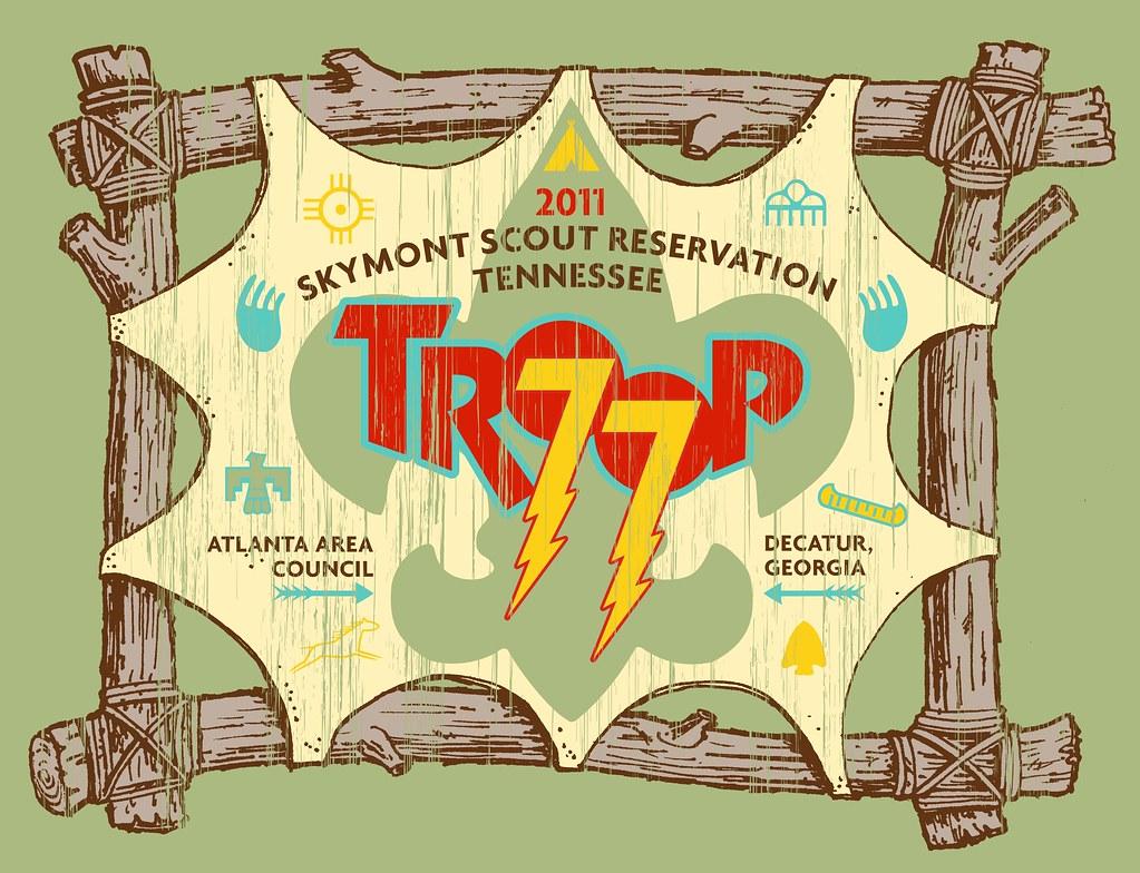 Troop 77 T-Shirt 2011