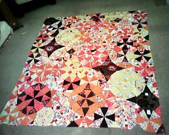 Sanctuary quilt with corners filled in
