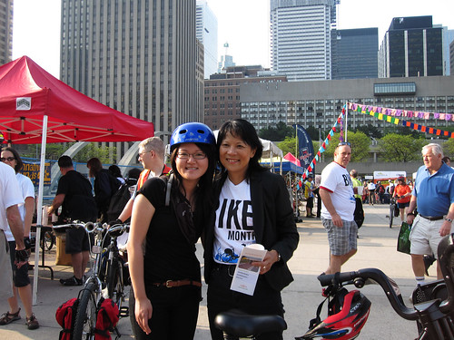 Audrey and Olivia Chow