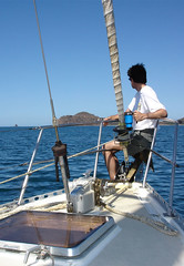 Nothing like sailing the Blue Double Shot in Costa Rica