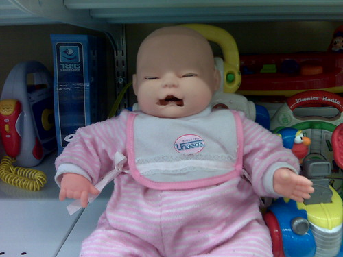 scariest doll ever spotted at value village