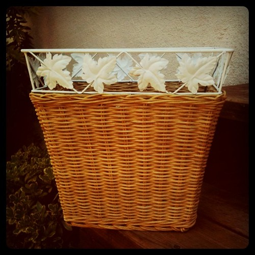 Waste Basket Makeover