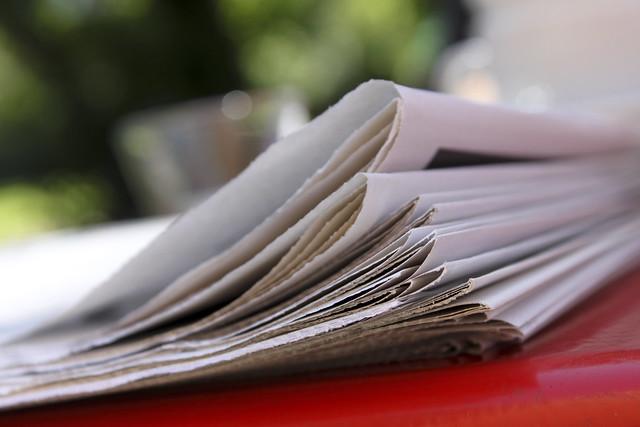 Zeitungsseiten