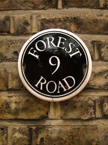London Street Sign by Danalynn C