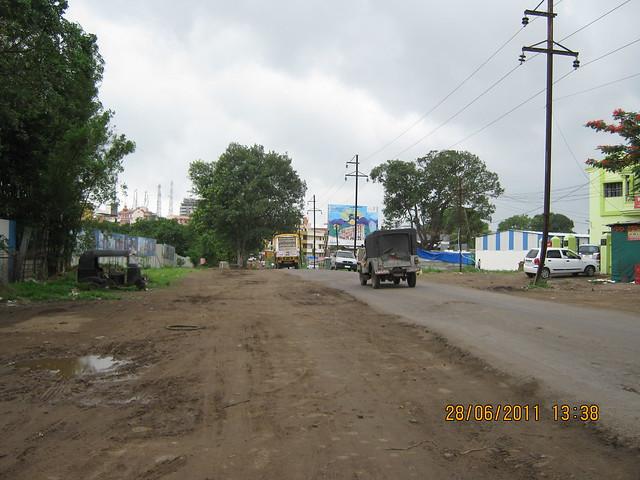 Dange Chowk (Wakad) to Hinjewadi Road, opposite Vascon Xotech Homes, 2 BHK & 3 BHK Flats in Hinjewadi Gram Panchayat, Pune 411 057