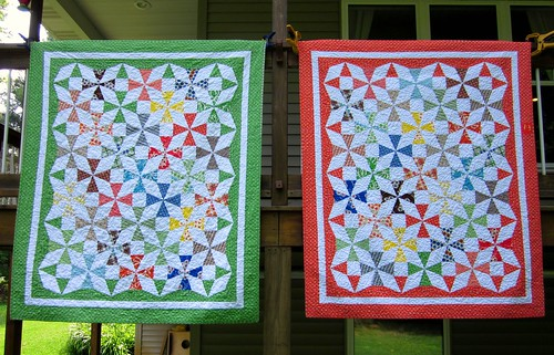 Saltwater Taffy Quilts for my boys