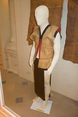 Sarawak aboriginal vest woven from bark (quinet) Tags: 2015 aborigne borneo iban kuching kuchingtextilemuseum malaysia muziumnegerisarawak sarawak sarawakstatemuseum ureinwohner aboriginal native