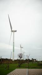 彰濱工業區, wind power plant. Taiwan. Nikon O 35/2. DSC00788 (愛照相) Tags: nikon352 windpowerplant 彰濱工業區