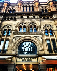 Queen Victoria Building (billiejenn) Tags: architecture travel explore australia sydney queenvictoriabuilding