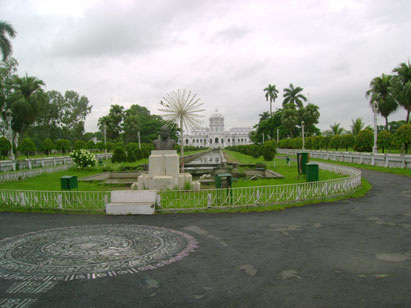 Picture:  Tripura Royal Place in India established in 1900, collected by Sontosh