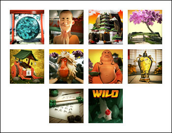 free Shangri-La slot game symbols