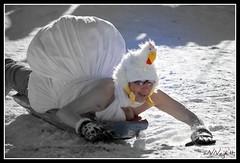 Topplosaking V (aNNajé) Tags: snow cold norway naked women ride little bare sneeuw topless lofoten vrouw koud noorwegen beetje bloot sleetje topplosakin byzonderreizenno
