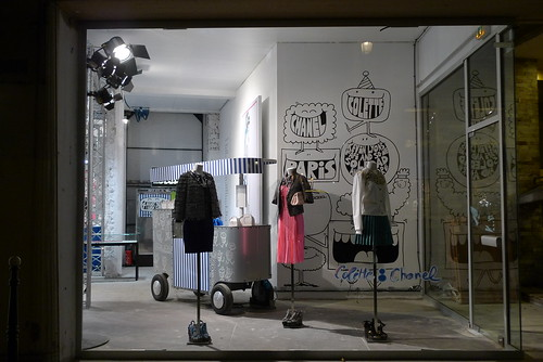 Vitrines boutique éphémère Chanel Colette - Paris, mars 2011