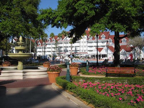 Grand Floridian Courtyard Fountain