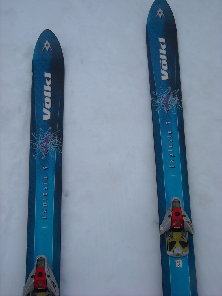 Typical interior BC setup, 99-02 (Greatest skis ever)