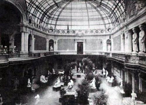 santiago 1915 (44) palacio de bellas Artes
