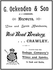 Ockenden & Son Brewers, Crawley, 1900 Advert (The Quaffer) Tags: brewing vintage sussex brewers brewery brewer adverts breweries breweriana