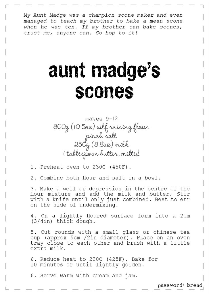 aunt madges scone recipe2