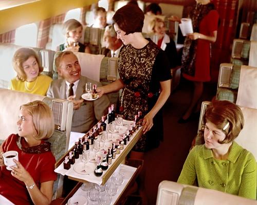 drink-cart-service-airplane
