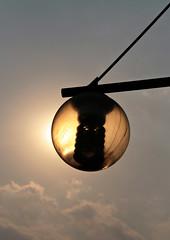 Lantern in Century Park (~ Lumi ~) Tags: china sky sun canon shanghai sigma lantern lumi 18200 30d centurypark lumi3005