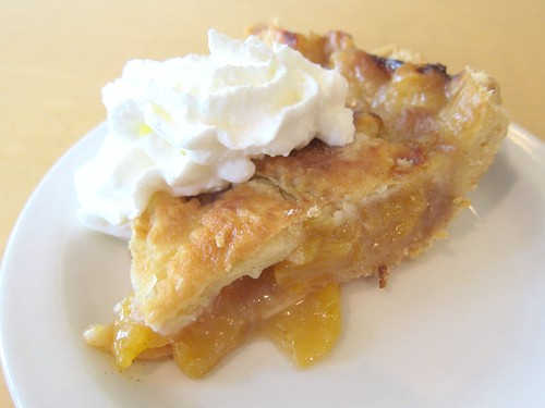 Brandied Peach Pie