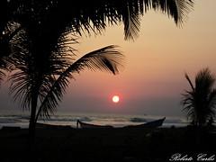Atardecer en la Costa Salvadorea (roberto10sv) Tags: touraroundtheworld