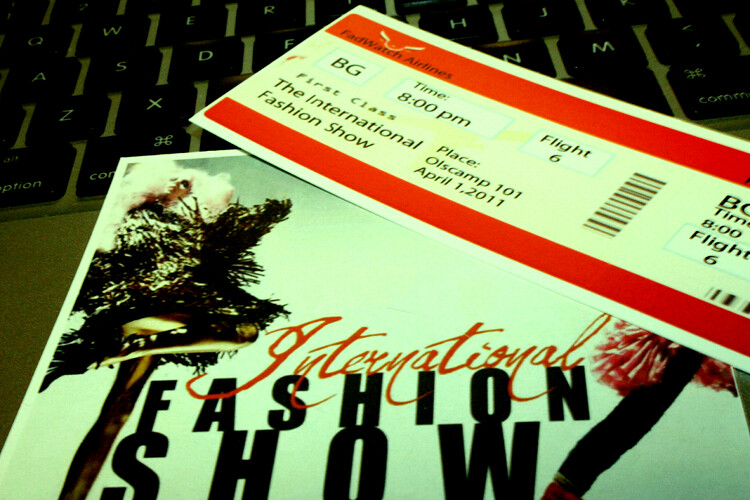 International Fashion Show!