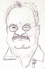 Portrait Duckmarx (Sketchmanni) Tags: party portrait pencil ink sketch julia drawing emma kay sketchbook doodle manuel bild tinte scribble bleistift grote moleskin zeichnung manni jkpp moeskinerie