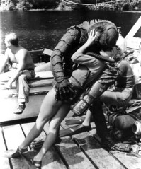 Untold Story (Sea Moon) Tags: woman france girl kiss creature embrace aprilfools creaturefromtheblacklagoon gillman revengeofthecreature poissonday