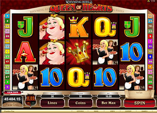 Rhyming Reels Queen of Hearts slot game online review