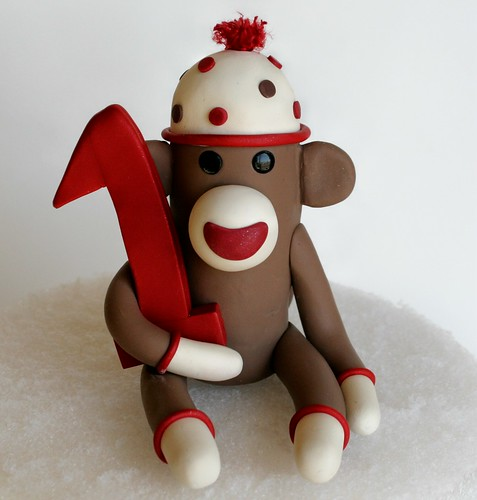 Awe Inspiring Flickriver Photoset Sock Monkey Birthday Cake Toppers By Spiritmama Funny Birthday Cards Online Barepcheapnameinfo