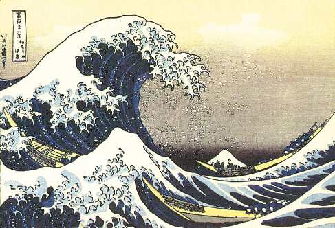 hiroshige_waves by MorCheebs