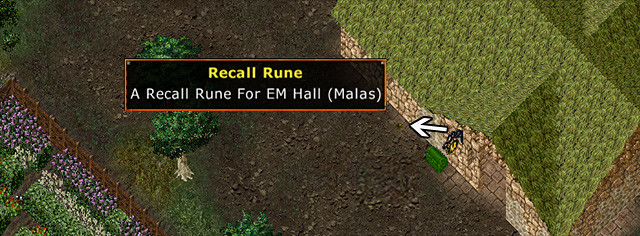 Ultima Online - Lake Superior Rares Festival 2011 - Rune to EM Hall