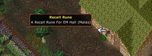 Ultima Online - Lake Superior Rares Festival 2011 - Rune to EM Hall