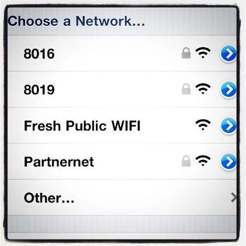 Fresh by Brookshires Free Public Wifi