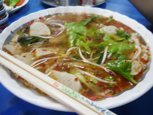 Dong Ba Bun Bo Hue with Condiments