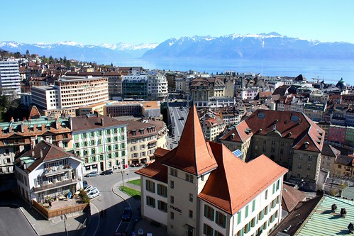 City Hotels Lausanne from the Tower