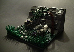 Nightfall (LEGO Halo: Reach) ([Renegade]) Tags: 6 team lego halo battle scene reach six campaign nightfall noble grunts