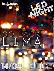 Go Back Lima - Dolce