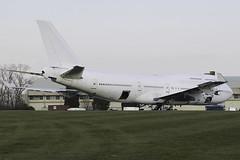F-GITB - 1991 build ex Air France B747-428 being dismantled (egcc) Tags: boeing scrap airfrance dismantled kemble b747428 fgitb egbp cotswoldairport
