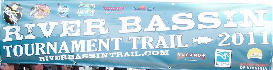 River Bassin Tournament Trail Banner