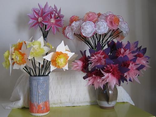 paper flowers wedding. tissue paper flowers wedding.