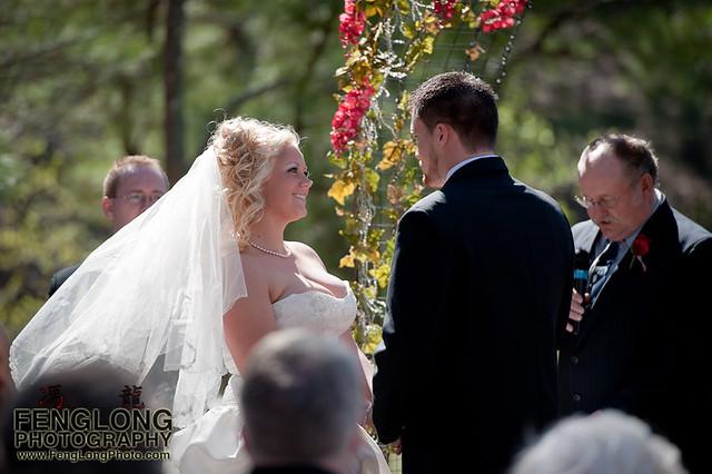 The Ceremony | Jennifer & Derek's Red Top Mountain Wedding, Cartersville, Georgia [Atlanta Wedding Photographer]