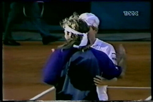 Andre Agassi Jim Courier image