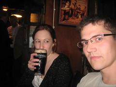 Bonnie and Rob (hatapota) Tags: leavingdrinks chrispaton craichouse ncvoit
